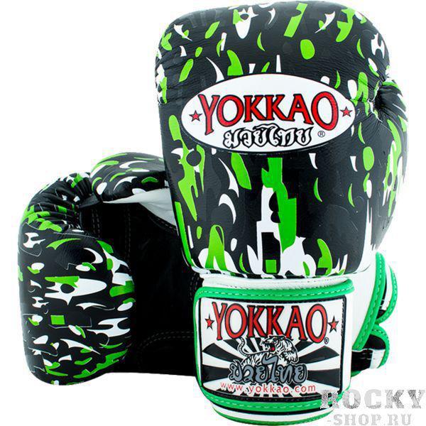 Боксерские перчатки Yokkao Apache, 12 oz YokkaoБоксерские перчатки<br>Боксерские перчатки Yokkao Apache.Yokkao - один из лидеров по производству экипировки для тайского бокса.Данные перчатки подойдут и для работы на мешках, и на лапах, и для работы в самых жестких спаррингах.Внутри перчатки наполнены пеной, которая хорошо гасит силу ударов и не дает рукам травмироваться.Большой палец на перчатки зафиксирован.Данные перчатки для бокса выполнены из кожи КРС.Запястье надёжно фиксируется манжетой.Сделаны вручную в Таиланде.<br>