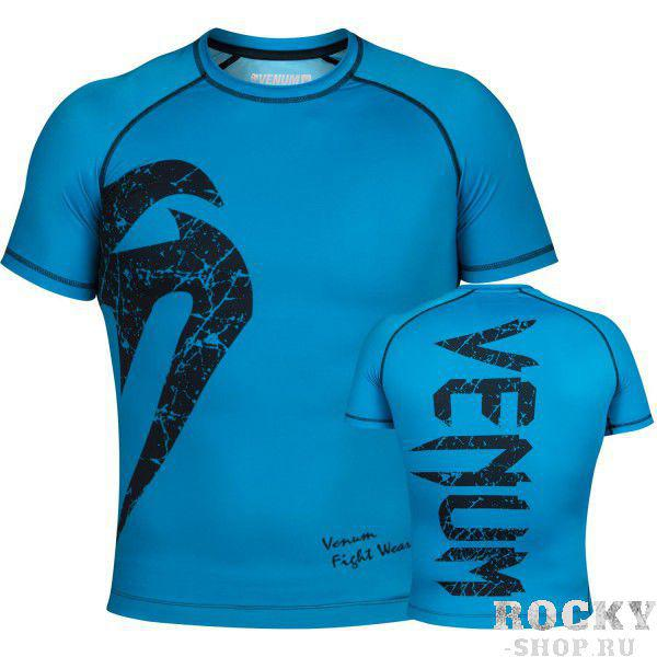Рашгард Venum Original Giant Blue S/S