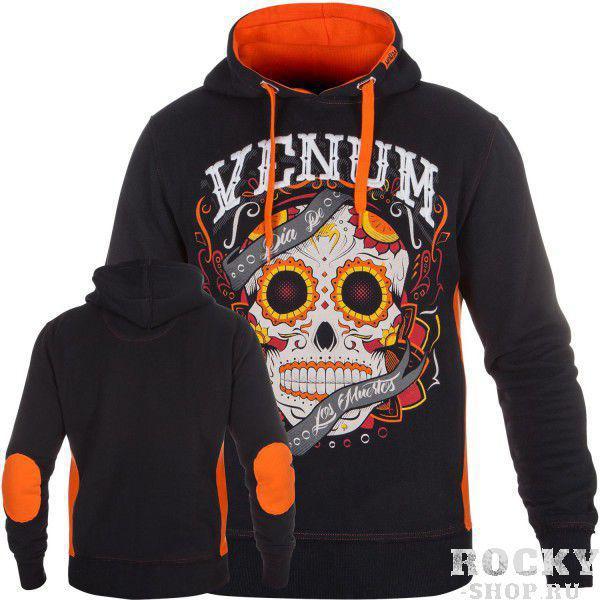 Толстовка Venum Santa Muerte Black/Orange Venum