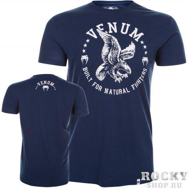 Купить Футболка Venum Natural Fighter Eagle - Blue (арт. 7425)