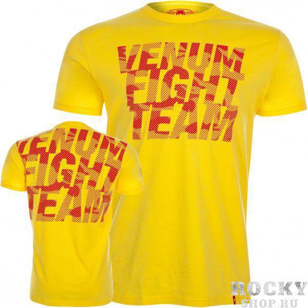 Футболка Venum Speed Camo Acid Yellow VenumФутболки<br>В футболкеVenum Speed Camo Acid Yellow Вы будете чувствовать себя частью команды Venum и в зале, и в повседневной жизни. Эта модель подчеркивает страсть владельца к боевым видам спорта. На передней и задней частях футболки нанесен камуфляж трафаретной печатью. Обладает спортивным кроем и непревзойденным комфортом. Особенности:- 100% хлопок- Трафаретная печать- Спортивный крой<br><br>Размер INT: S