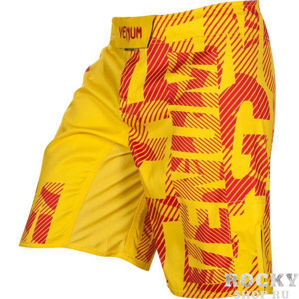 Купить Шорты ММА Venum Speed Camo Acid Yellow (арт. 7454)