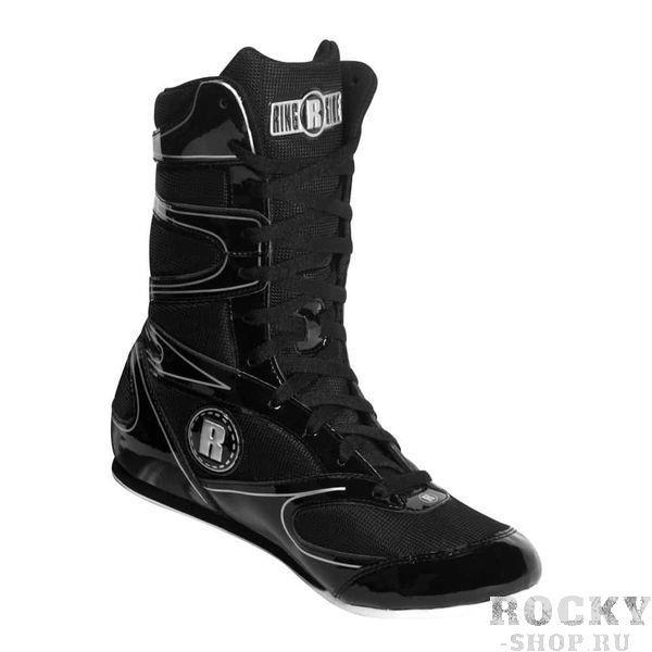 Боксёрки высокие 6-13, Чёрный RINGSIDE