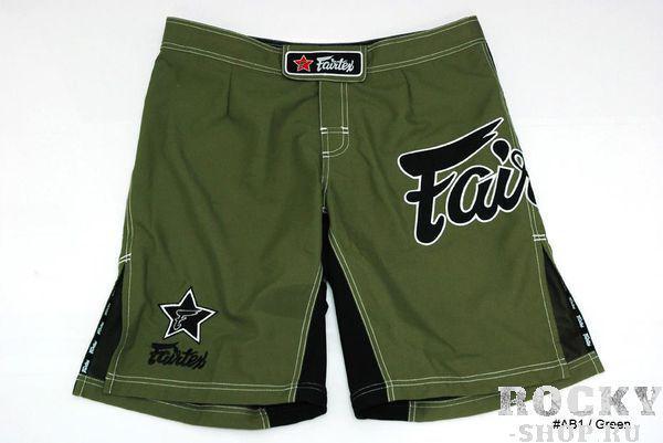 Шорты MMA Fairtex, Зеленые FairtexШорты ММА<br>Это классические шорты Fairtexдля различных видов спорта. Они одинаково хороши и для ММА, и для Грэпплинга, и для Muay Thai, и для Виндсерфинга. Так же они подойдут для активного отдыха на природе, пробежек или купания. Эти шорты поистине являются универсальными. <br><br>Материал - полиестер 100%<br>По бокам сделаны эластичные вставки, уменьшая вероятность разрыва ткани при нагрузках<br>Цвет - зеленый<br><br>Размер INT: L