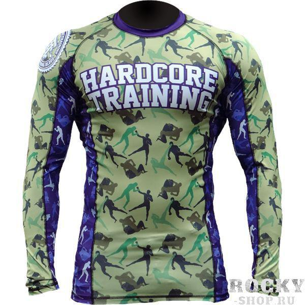 Рашгард Hardcore Training Camo Fight