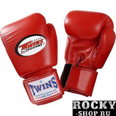 Детские боксерские перчатки Twins Special, Red, 4 OZ Twins SpecialБоксерские перчатки<br>Детские классические перчатки Twins Special. Отличный тренировочный вариант для самых маленьких бойцов. Ремень-липучка обеспечивает хороший обхват руки. Очень удобная посадка кулака. Внешняя часть перчаток- 100% кожа!Производство: «TWINS SPECIAL» - Таиланд.<br><br>Размер: красные