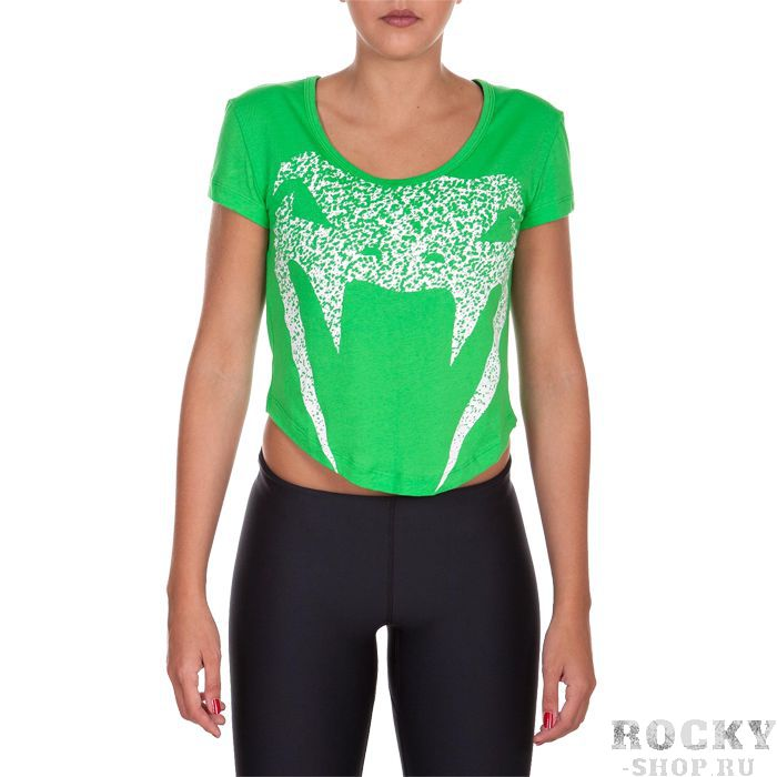 Женская футболка Venum Assault VenumФутболки / Майки / Поло<br>Женская футболка Venum Assault. Лёгкая и удобная футболка для тренировок. Свободный крой позволяет активно заниматься самыми различными видами спорта. Краска, которой сделан рисунок на футболке, экологически чистая. Уход: машинная стирка в холодной воде, деликатный отжим, не отбеливатьСостав: 100% хлопок.<br><br>Размер INT: M