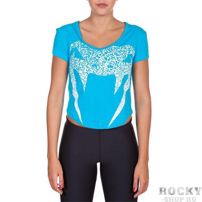 Женская футболка Venum Assault VenumФутболки<br>Женская футболка Venum Assault. Лёгкая и удобная футболка для тренировок. Свободный крой позволяет активно заниматься самыми различными видами спорта. Краска, которой сделан рисунок на футболке, экологически чистая. Уход: машинная стирка в холодной воде, деликатный отжим, не отбеливатьСостав: 100% хлопок.<br><br>Размер INT: M