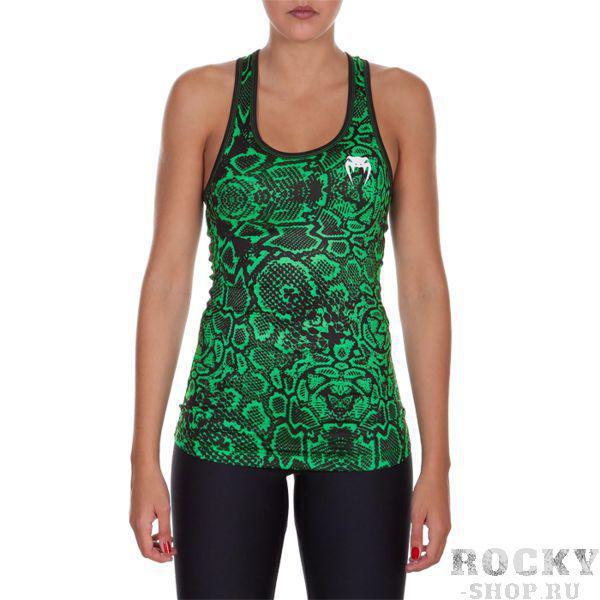 Женская тренировочная майка Venum Fusion VenumМайки<br>Женская тренировочная майка Venum Fusion. Лёгкая и удобная майка для тренировок. Особенности кроя и ткани позволяют активно заниматься в майке самыми различными видами спорта. Уход: ручная стирка в холодной воде, не отбеливать. Состав: полиэстер, спандекс.<br><br>Размер INT: M
