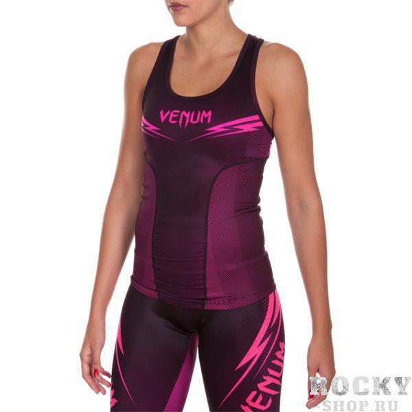 Женская тренировочная майка Venum Razor VenumМайки<br>Женская тренировочная майка Venum Razor. Лёгкая и удобная майка для тренировок. Особенности кроя и ткани позволяют активно заниматься в майке самыми различными видами спорта. Уход: ручная стирка в холодной воде, не отбеливать. Состав: полиэстер, спандекс.<br><br>Размер INT: M