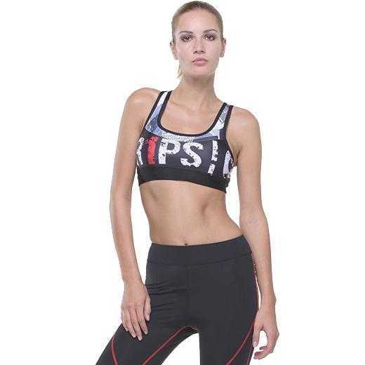Тренировочный топик Grips Athletica Grips AthleticsМайки<br>Женский тренировочный топик Grips Athletica. Топ отлично подойдет для тренировок по ММА, греппленгу и бжж, кроссфиту и работе с железом, бегу и йоге. Ткань топа сделана из смеси спандекса и полиэстера. Максимальная поддержка для максимальной стабильности. Женский тренировочный топик сделан двухслойным для дополнительной защиты и комфорта. Топ сделан из достаточно дышашего материала. Плоские швы не будут натирать кожу. Уход: машинная стирка в холодной воде, деликатный отжим, не отбеливать.<br><br>Размер INT: L