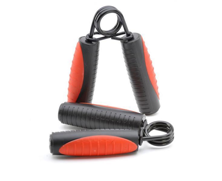 Эспандеры кистевые Professional Grip Trainer черно-красные Adidas (арт. 7729)  - купить со скидкой