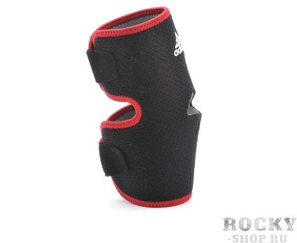 Купить Суппорт локтя регулируемый Adjustable Elbow Support черно-красный Adidas (арт. 7765)