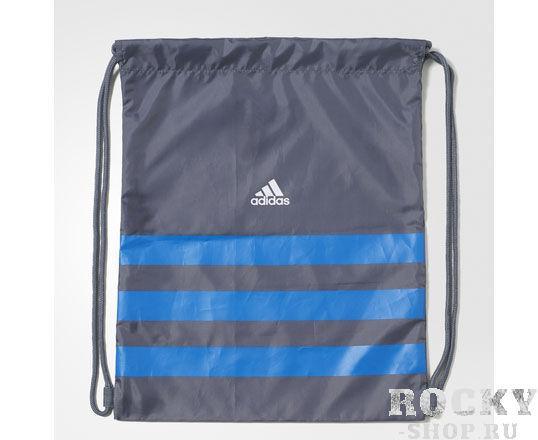Купить Мешок для обуви Ace 16.2 Gym Bag серо-синий Adidas (арт. 7797)