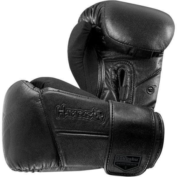 Купить Боксерские перчатки Hayabusa Tokushu Regenesis Stealth 16+ oz (арт. 7812)