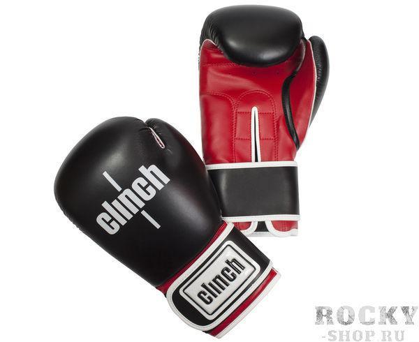 Перчатки боксерские Clinch Fight, 14 унций Clinch GearБоксерские перчатки<br>Боксереские перчатки Fight. Изготовлены эластичного полиуретана Flex PU. Многослойный пенный наполнитель. Широкая манжета из искусственной кожи на липучке велкро.<br><br>Цвет: красно-белые