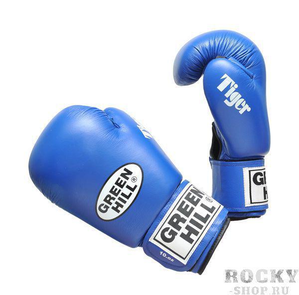 Купить Боксерские перчатки aiba tiger Green Hill 10 oz (арт. 7901)