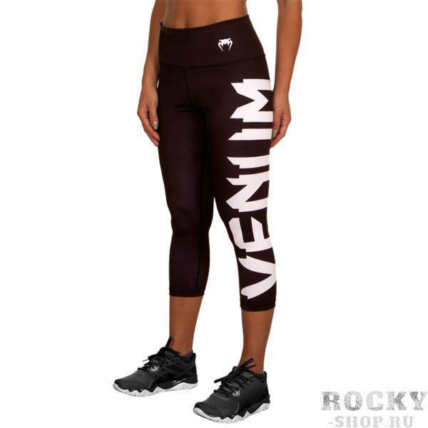 Женские компрессионные бриджи Venum Giant VenumКомпрессионные штаны / шорты<br>Женские компрессионные бриджи Venum Giant.С этими компрессионками от Venum вы будете думать только о тренировочном процессе, не отвлекаясь на неприятные ощущения в мышцах ног.Предназначены для улучшения кровообращения в мышцах, что, в свою очередь, способствует уменьшению времени на восстановление полной работоспособности мышцы.Прекрасно сидят на любом теле, хорошо тянутся, абсолютно НЕ сковывают движения.Очень приятная на ощупь ткань.Штаны Venum достаточно быстро сохнут.Плоские швы не натирают кожу.Предназначены для занятий самыми различными единоборствами, кроссфитом, фитнесом, железным спортом и т.д..Состав: полиэстер и спандекс.Уход: Машинная стирка в холодной воде, деликатный отжим, не отбеливать.<br>