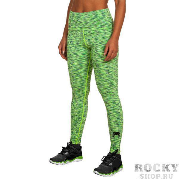 Женские компрессионные штаны Venum Giant VenumКомпрессионные штаны / шорты<br>Женские компрессионные штаны Venum Heather. Данные штаны можно охарактеризовать двумя словами: качество и стиль. С этими компрессионками от Venum вы будете думать только о тренировочном процессе, не отвлекаясь на неприятные ощущения в мышцах ног. Предназначены для улучшения кровообращения в мышцах, что, в свою очередь, способствует уменьшению времени на восстановление полной работоспособности мышцы. За счёт особенностей ткани штаны прекрасно садятся на фигуру, хорошо тянутся, абсолютно НЕ сковывают движения. Приятная на ощупь ткань. Штаны Venum достаточно быстро сохнут. Плоские швы не натирают кожу. Предназначены для занятий кроссфитом, фитнесом, железным спортом и т. д. . Состав: полиэстер и спандекс. Уход: Машинная стирка в холодной воде, деликатный отжим, не отбеливать.<br><br>Размер INT: S