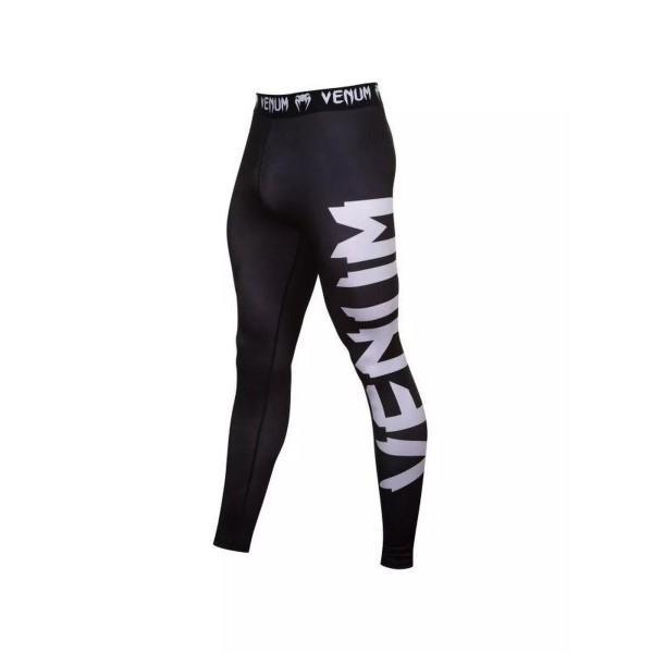 Компрессионные штаны Venum Giant VenumКомпрессионные штаны / шорты<br>Компрессионные штаны Venum Giant.С этими компрессионками от Venum вы будете думать только о тренировочном процессе, не отвлекаясь на неприятные ощущения в мышцах ног.Предназначены для улучшения кровообращения в мышцах, что, в свою очередь, способствует уменьшению времени на восстановление полной работоспособности мышцы.Прекрасно сидят на любом теле, хорошо тянутся, абсолютно НЕ сковывают движения.Очень приятная на ощупь ткань.Штаны Venum достаточно быстро сохнут.Плоские швы не натирают кожу.Предназначены для занятий самыми различными единоборствами, кроссфитом, фитнесом, железным спортом и т.д..Уход: Машинная стирка в холодной воде, деликатный отжим, не отбеливать.<br>