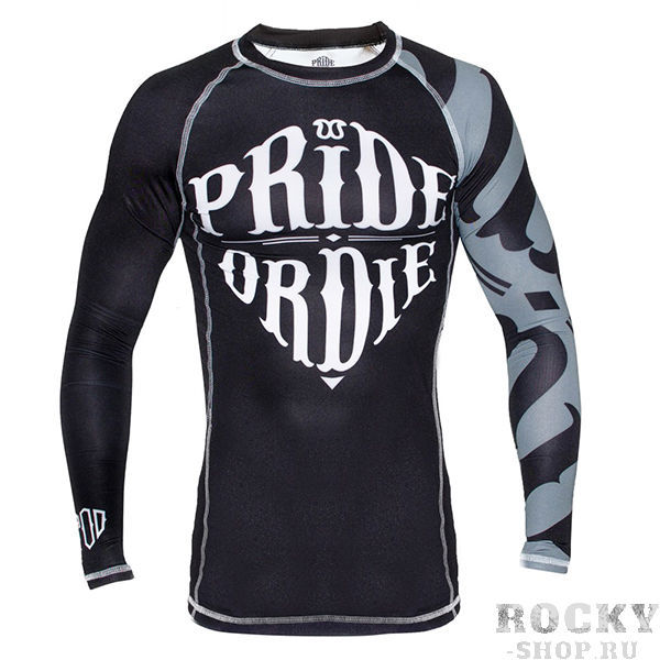 Рашгард PRiDEorDiE Reckless Black White Edition PRiDEorDiEРашгарды<br><br>