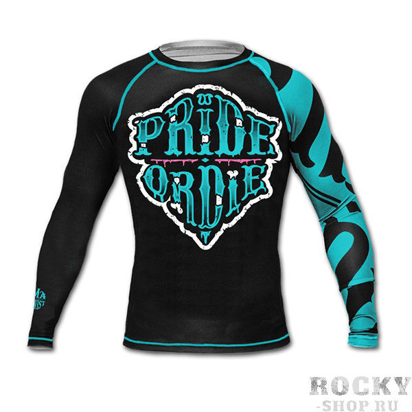Рашгард PRiDEorDiE Z-Camp Black Blue
