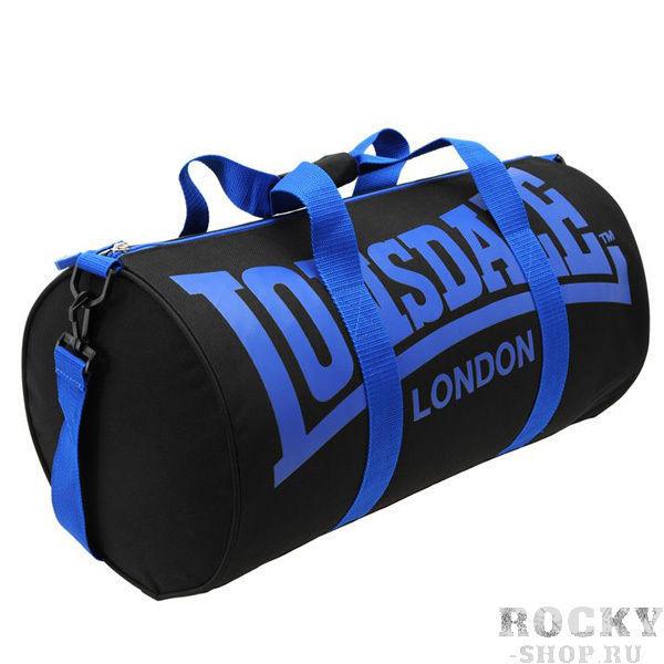 Купить Спортивная сумка Lonsdale Barrel Black Blue (арт. 8110)