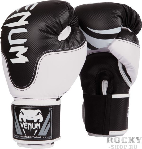 Купить Перчатки боксерские Venum Competitor Boxing Gloves Carbon Edition 16 унций (арт. 8197)
