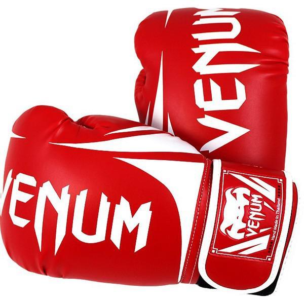 Купить Перчатки боксерские Venum Challenger 2.0 Boxing Gloves - Red 16 унций (арт. 8212)