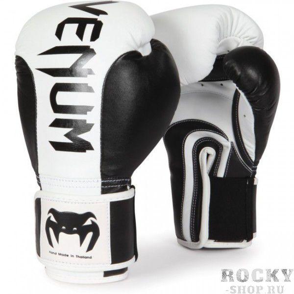 Купить Перчатки боксерские Venum Absolute Black/White 12 унций (арт. 8216)