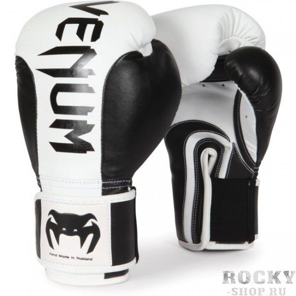 Перчатки боксерские Venum Absolute Black/White, 14 унций Venum