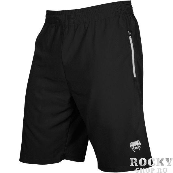 Шорты Venum Fit - Black VenumСпортивные штаны и шорты<br>Шорты Venum Fit идеально подходят для интенсивных тренировок. Ткань очень легкая и прочная, быстро сохнет, а посадка свободная. Оснащены шнурком, который предоставляет возможность настроить посадку по талии. Боковые карманы на молниях держат Ваши вещи в сохранности. Особенности:- 100% полиэстер- легкие и быстро сохнут- боковые карманы на молниях<br><br>Размер INT: XL