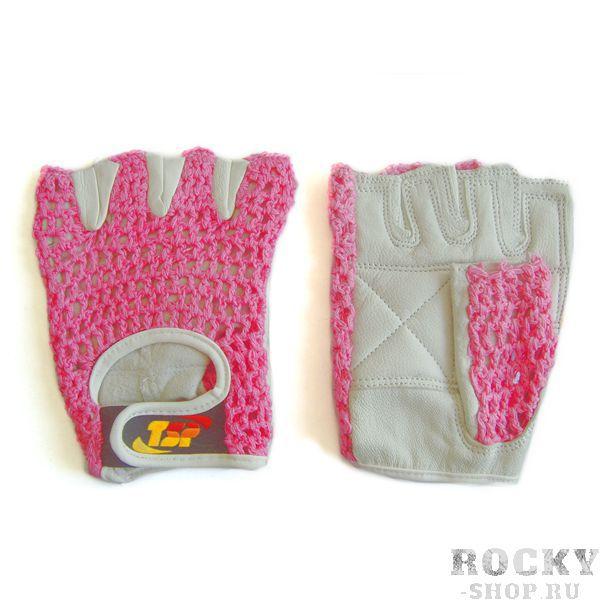Купить Перчатки для фитнеса, женские, Розовые TSP (арт. 8374)