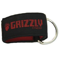 Купить Ремень на лодыжку, Чёрный/красный Grizzly (арт. 8450)