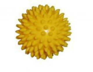 Мяч массажный игольчатый, жесткий FK-MB3, 8 см STATUS