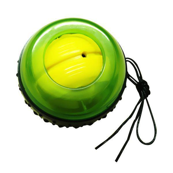 Эспандер кистевой Wrist ball, 7.5 см NC sportsЭспандеры<br>Эспандер может быть запущен либо специальным шнуром, который закручивается на внутренний ротор и резко выдёргивается, либо быстрым скользящим движением пальца. При раскручивании внутреннего ротора до 2-3 тысяч оборотов, человек, удерживающий его в руке, может разогнать ротор до 8000 оборотов в минуту путём совершения круговых движений кистью. Принцип действия эспандера основан на принципе работы гироскопа. Если прикладывать кгироскопупостоянную внешнюю силу, то он начнет поворачиваться вокруг некоторой оси, не совпадающей по направлению с основной осью вращающегосяротора, т. е. прецессировать. При этом вращение происходит не в соответствии с направлением воздействия внешней силы. Величина прецессии пропорциональна величине действующей силы. В случае прекращения внешнего воздействия прецессия мгновенно заканчивается, но ротор продолжает вращаться. <br>     укрепляет запястья, кисти рук и предплечья<br>     повышает выносливость и цепкость рук<br>     тренирует пальцы и силу хватки рук<br>