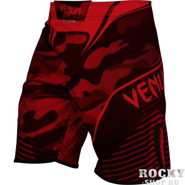 Шорты ММА Venum Camo Hero Black/Red VenumШорты ММА<br>Благодаря привлекательному дизайну с камуфляжем шорты ММА Venum Camo Hero обеспечивают сильный и мощный вид. Сделаны из самой упругой микроволокнистой ткани, качество и цвет которой не ухудшится. Усиленные швы предлагают идеальную комбинацию поддержки, комфорта и свободы движений. Тройная застежка надежно фиксирует шорты. Быстросохнущая ткань из микроволокна и сетчатые панели гарантируют идеальную терморегуляцию во время тренировки или боя. Одев шорты Venum Camo Hero, Вы станете настоящей боевой машиной. Настало время для славы!Особенности:- ультра-легкаямикроволокнистая ткань из полиэстера- сетчатые панели для оптимальной терморегуляции- тройная застежка для надежной фиксации- усиленные швы- быстро сохнут- рисунок встроен в ткань и никогда не повредится<br><br>Размер INT: M