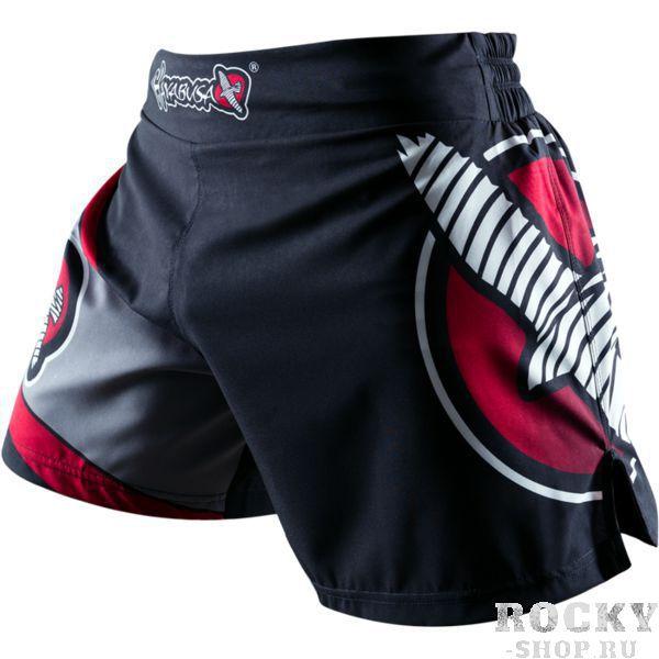 Шорты Hayabusa Kickboxing HayabusaШорты для тайского бокса/кикбоксинга<br>Шорты Hayabusa Kickboxing. Очень лёгкие, но при этом очень прочные шорты. Материал, из которого сделаны шорты Hayabusa Kickboxing, хорошо тянется. Так же присутствуют боковые разрезы на бёдрах. За счет этих факторов шорты становятся очень удобными в работе и не создают ни малейшего намёка на дискомфорт. Так же необходимо отметить, что данные шорты короче своих ММА-аналогов. Шорты Hayabusa Kickboxing достаточно быстро сохнут после стирки. Этот фактор позволит использовать их максимально часто. Все рисунки сублимированны в ткань. Подходят для занятий самыми различными единоборствами, кроссфитом, фитнесом, железным спортом и т. д. . Уход: машинная стирка в холодной воде, деликатный отжим, не отбеливать.<br><br>Размер INT: M