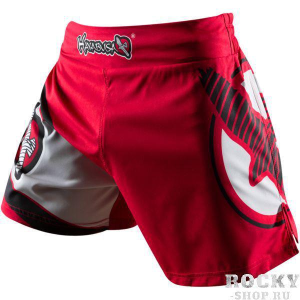 Шорты Hayabusa Kickboxing HayabusaШорты для тайского бокса/кикбоксинга<br>Шорты Hayabusa Kickboxing. Очень лёгкие, но при этом очень прочные шорты. Материал, из которого сделаны шорты Hayabusa Kickboxing, хорошо тянется. Так же присутствуют боковые разрезы на бёдрах. За счет этих факторов шорты становятся очень удобными в работе и не создают ни малейшего намёка на дискомфорт. Так же необходимо отметить, что данные шорты короче своих ММА-аналогов. Шорты Hayabusa Kickboxing достаточно быстро сохнут после стирки. Этот фактор позволит использовать их максимально часто. Все рисунки сублимированны в ткань. Подходят для занятий самыми различными единоборствами, кроссфитом, фитнесом, железным спортом и т. д. . Уход: машинная стирка в холодной воде, деликатный отжим, не отбеливать.<br><br>Размер INT: S