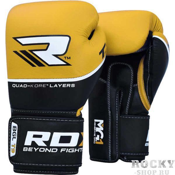 Купить Боксерские перчатки RDX BGL-T9 Yellow 12 oz (арт. 8618)