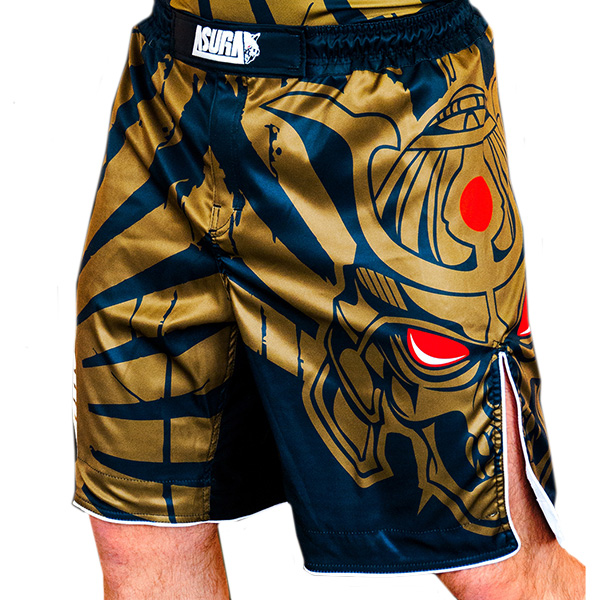 Шорты AsurA MMA Immortal Warrior Gold