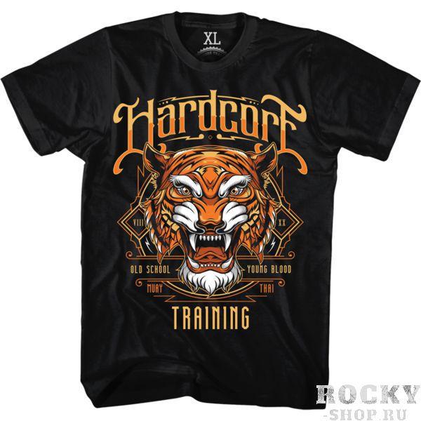 Футболка Hardcore Training Tiger Hardcore TrainingФутболки / Майки / Поло<br>Футболка Hardcore Training Tiger.Тигр, Тигр, жгучий страх, ты горишь в ночных лесах.Уход: машинная стирка в холодной воде, деликатный отжим, не отбеливать.Состав: 100% хлопок.<br>