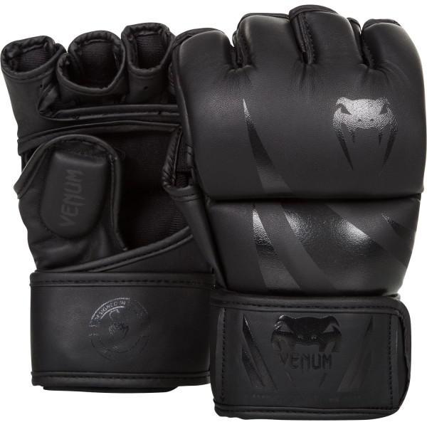 Купить Перчатки ММА Venum Challenger - Neo Black (арт. 8805)