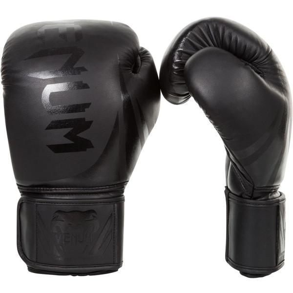 Купить Перчатки боксерские Venum Challenger 2.0 Neo Black 14 oz (арт. 8808)