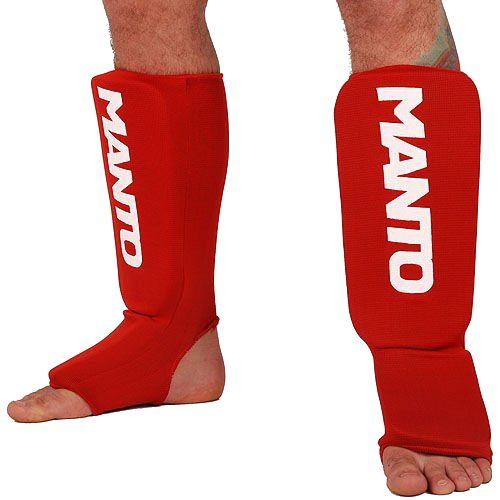 Шингарды (накладки на ноги) Manto, Красные MantoЗащита тела<br>Шингарды (накладки на ноги) Manto. Основные достоинства данной защиты ног: они лёгкие и не занимают много места. Отлично подойдут и для тренировок новичков, и для выступления на любительских соревнованиях.<br><br>Размер: M