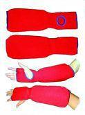 Купить Защита на предплечье и кисть хлопок/эластик Green Hill красный (арт. 8825)
