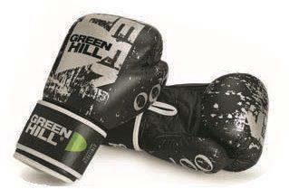 Боксерские перчатки Green Hill 007, 16oz Green HillБоксерские перчатки<br>Материал: Натуральная кожаВиды спорта: БоксКожаные боксерские перчатки от известного производителя Green Hill идеально подойдут для эффективных тренировок настоящих бойцов. . Эта модель перчатки может использоваться для спаррингов, а также для работы на лапах. Перчатки боксерские Green Hill Boxing Gloves 007 оснащены качественным пенополиуретановым наполнением средней жесткости. Благодаря наличию манжета на липучке, что Вы сможете самостоятельно снимать и одевать перчатки перед спаррингом. Перчатки боксерские Green Hill Boxing Gloves 007 – залог эффективной тренировки!<br><br>Цвет: Синий