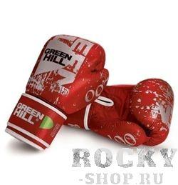 Боксерские перчатки Green Hill 007, 14oz Green HillБоксерские перчатки<br>Материал: Натуральная кожаВиды спорта: БоксКожаные боксерские перчатки от известного производителя Green Hill идеально подойдут для эффективных тренировок настоящих бойцов.. Эта модель перчатки может использоваться для спаррингов, а также для работы на лапах. Перчатки боксерские Green Hill Boxing Gloves 007 оснащены качественным пенополиуретановым наполнением средней жесткости. Благодаря наличию манжета на липучке, что Вы сможете самостоятельно снимать и одевать перчатки перед спаррингом. Перчатки боксерские Green Hill Boxing Gloves 007 – залог эффективной тренировки!<br>