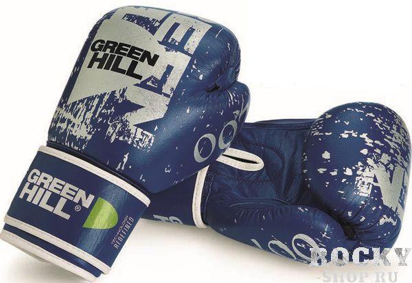 Боксерские перчатки Green Hill 007, 10oz Green HillБоксерские перчатки<br>Материал: Натуральная кожаВиды спорта: БоксКожаные боксерские перчатки от известного производителя Green Hill идеально подойдут для эффективных тренировок настоящих бойцов.. Эта модель перчатки может использоваться для спаррингов, а также для работы на лапах. Перчатки боксерские Green Hill Boxing Gloves 007 оснащены качественным пенополиуретановым наполнением средней жесткости. Благодаря наличию манжета на липучке, что Вы сможете самостоятельно снимать и одевать перчатки перед спаррингом. Перчатки боксерские Green Hill Boxing Gloves 007 – залог эффективной тренировки!<br>