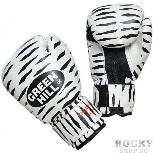 Боксерские перчатки Green Hill ZEBRA, 10oz Green HillБоксерские перчатки<br>Материал: Искусственная кожаВиды спорта: БоксБоксерские тренировочные перчатки Зебра. Верх сделан из синтетической кожи, ладонь из дышащей сетки. Манжет на липучке.<br>